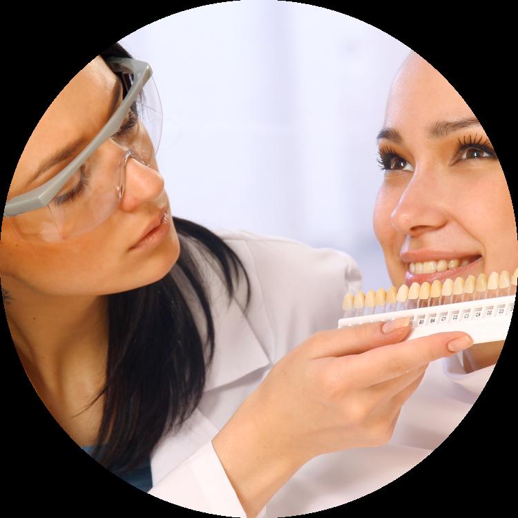 aline dental associates- porcelain veneers